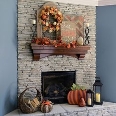 Farmhouse Mantle!