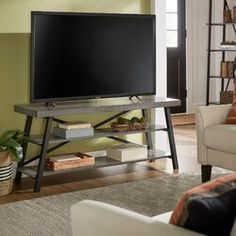 17 Stories Arek Counter & Bar Stool | Wayfair 60 Inch Tv Stand, 60 Tv Stand, Tv Stand Shelves, Leather Chesterfield, Rustic Wood, Distressed Wood, Leather Bar Stools, Loveseat Sofa, Sofas