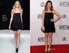 Lucy Hale In Vera Wang – 2014 American Music Awards