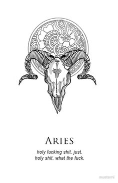 Aries - Shitty Horoscopes Book I: Such Terrible Things by musterni