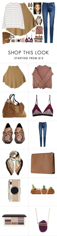 """""""Warm"""" by solespejismo ❤ liked on Polyvore featuring Maje, Acne Studios, Dolce&Gabbana, STELLA McCARTNEY, A Peace Treaty, Marni, Kate Spade, Dot & Bo, H&M and Vince Camuto"""