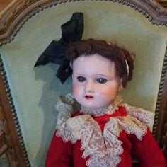 Poupée ancienne papier maché yeux fixes XIXème ? 63cm                    1710-72 | Куклы и мягкие игрушки, Куклы, Антикварные (до 1930 г.) | eBay!