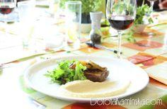Puree z selera czyli dodatek do obiadu w wersji fit :).   http://dorota.in/puree-z-selera/  #obiad #przepis #kuchnia #fit