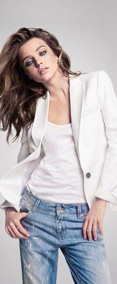 Miranda Kerr for Mango Summer 2013