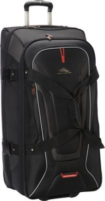 226b8c0cbf High Sierra AT7 32 inch Wheeled Duffel with Backpack Straps Black - via  eBags.com!