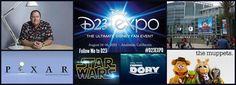 Follow Me at D23 #D23EXPO