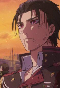 ~ Guren Ichinose with demon eyes ~ Cute Anime Guys, Anime Love, Anime Manga, Anime Art, Kagami Kuroko, Character Art, Character Design, Seraph Of The End, Owari No Seraph