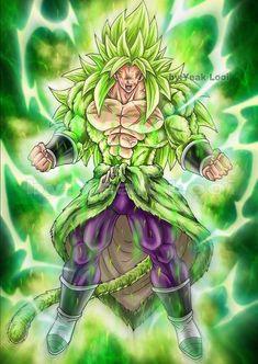 Dragon Ball Image, Dragon Ball Gt, Fantasy Character Design, Character Art, Broly Ssj4, Foto Do Goku, Anime Comics, Anime Characters, Fan Art