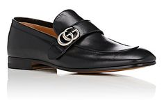 Gucci Donnie Leather Loafers - Loafers - 504859000