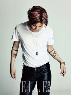 G-Dragon: Elle February, 2014