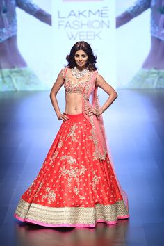 Anushree Reddy | Lakmé Fashion Week winter/festive 2016 #AnushreeReddy…