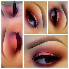 Pink, Bronze & Cranberry