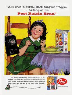 Post Raisin Bran - 1958