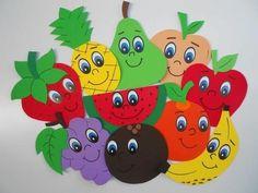 30 Ideas de Manualidades de Frutas y Verduras - Educación Preescolar - Alumno On