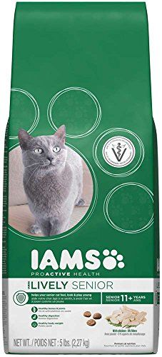 IAMS PROACTIVE HEALTH Senior Plus (11 Years Old and Older) Chicken Recipe Dry Cat Food 5 Pounds