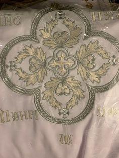 Variety of Coptic orthodox deacons liturgy vestments tonya   Etsy Blue Cross, Archangel Michael, Incense Holder, Quatrefoil, Icon Design, Custom Design, Crosses, The Incredibles, Stamp