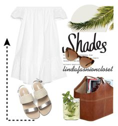 """Shades"" by lindaspfashioncloset ❤ liked on Polyvore featuring Elizabeth and James and Michael Kors"