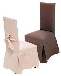 Resultado de imagen de como hacer fundas para sillas de comedor