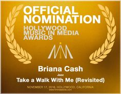 I've been nominated for a HMMA - 2016 Hollywood Music in Media Award! Yay! :D