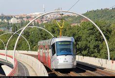 RailPictures.Net Photo: 9116 DP Praha Skoda 14T at Praha, Czech Republic by Dalibor Palko