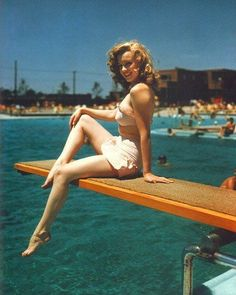 Classical Review: Hollywood Actresses Retro Bikini Competition-Global Intimate Wear