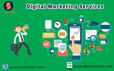 Transform your business with Digital Marketing Services. Scrutinysoft offers the most reliable and effective Online Marketing Services which include SMM, SEO, PPC, Email Marketing, Content Marketing & Affiliate Marketing Online Marketing Services, Marketing Technology, Email Marketing, Content Marketing, Affiliate Marketing, Social Media Marketing, Seo, Business, Store