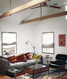 The Biggest Celeb Real Estate News of the Summer // Vincent Kartheiser's modern LA bungalow