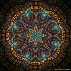 Sacred geometry for healing: mandala (muhn-duh-lah) ❤️ . Take a loo Mandala Art, Mandala Pattern, Mandala Meditation, Flower Mandala, Inspiration Wand, Crop Circles, Sacred Art, Sacred Geometry Art, Geometry Tattoo