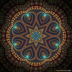Sacred geometry for healing: mandala (muhn-duh-lah) ❤️