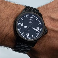 Sinn 856 S: legible, new Photo by - InstaPicto Men's Watches, Luxury Watches, Watches For Men, Sinn Watch, Omega Watch, Stuff To Buy, Accessories, Fancy Watches, Gents Watches