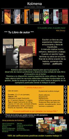 Promo Kolmena - Libro de autor