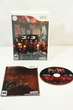 The House of the Dead 2 & 3 Return for Nintendo Wii 2008 Complete #SEGA