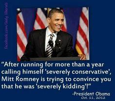 I love OUR president!