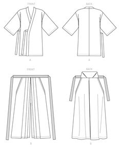 Available from Yaya's collaboration with McCall's Patterns, Unisex Kimono and Hakama Pants pattern was designed by Yaya and is numbered. Kimono Sewing Pattern, Mccalls Sewing Patterns, Pants Pattern, Japanese Pants, Japanese Outfits, Japanese Sewing Patterns, Japanese Costume, Fashion Sewing, Sewing Clothes