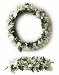 White Haku Lei for my flower girl