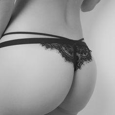 Fleur black panty