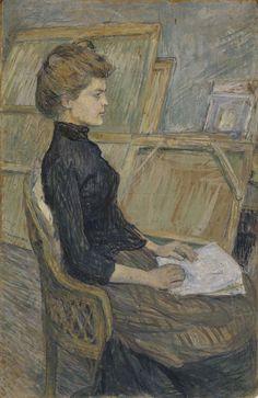 Helene Vary, 1889  Henri de Toulouse-Lautrec