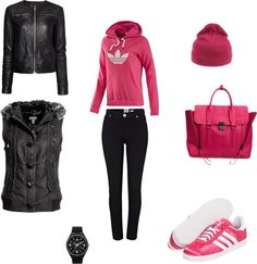 """Out And About"" by lashan ❤ liked on Polyvore"