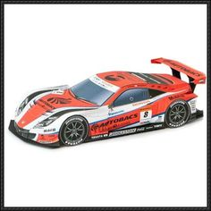 This paper model is Autobacs Racing Team Aguri's2012 ARTA Honda HSV-010 Racing Car, created by Epson Papercraft. There are also 2008, 2007, 2010 and 2011