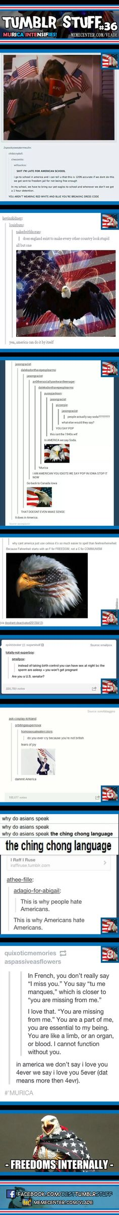 Tumblr Stuff #36: 'Murica intensifies! rofl