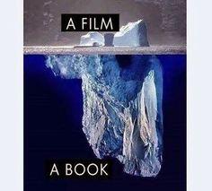Para los que todavia no entendieron las diferencias entre un libro y una pelicula!