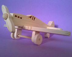 Aeroplano in legno per bambini modello  Spitfire
