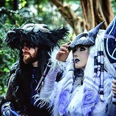 Amazing Kindred Cosplay! #amazing #kindred #cosplay #love #friend #forever #adc…