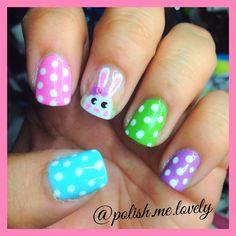 Easter Mani from @polish.me.lovely on Instagram