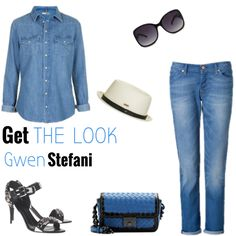 Get the look - Gwen Stefani