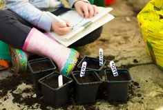 A Do It (Yourself) With Your Children Guide to Kiddie Container Garden