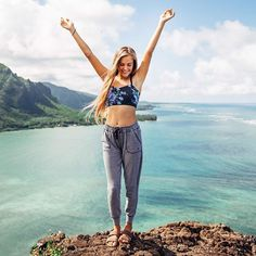 HOORAY FOR THE WEEKEND! {antigua cobalt exhale bra + at ease joggers}