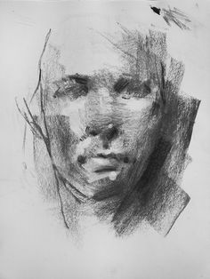 Sketch Heads (May on Behance Figure Drawing Models, Human Figure Drawing, Life Drawing, Charcoal Portraits, Charcoal Art, Charcoal Sketch, Portrait Sketches, Portrait Art, Oil Painting Abstract