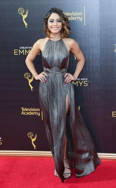 Vanessa Hudgens from Creative Arts Emmys 2016  The Grease Live! star keeps her…