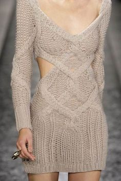 steinerkd:  Saturday mini-theme: Knitwear Warm, comfortable and surprisingly sensual.